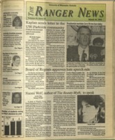 The Ranger News, Volume 20, issue 24, March 26, 1992