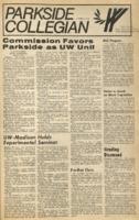 Parkside Collegian, Volume 1, issue 9, March 9, 1970