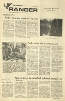 The Parkside Ranger, Volume 1, issue 27, May 2, 1973