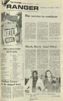 The Parkside Ranger, Volume 1, issue 6, November 1, 1972