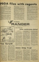 The Parkside Ranger, Volume 3, issue 11, October 16, 1974