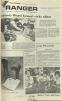 The Parkside Ranger, Volume 1, issue 9, November 22, 1972