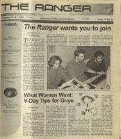 The Ranger , Volume 32, issue 14, February 14, 2002