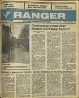 The Parkside Ranger, Volume 15, issue 11, November 13, 1986
