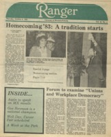 The Parkside Ranger, Volume 12, issue 5, October 6, 1983