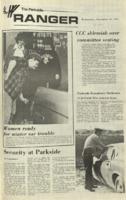The Parkside Ranger, Volume 1, issue 10, November 29, 1972