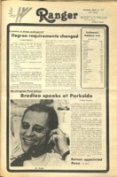 The Parkside Ranger, Volume 5, issue 22, March 23, 1977
