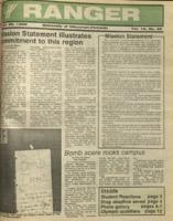 The Parkside Ranger, Volume 16, issue 29, April 28, 1988