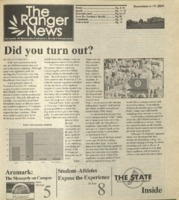 The Ranger News, Volume 35, issue 5, November 6, 2004