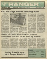 The Parkside Ranger, Volume 16, issue 22, March 10, 1988