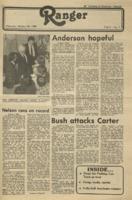 The Parkside Ranger, Volume 9, issue 9, October 30, 1980