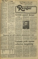 The Parkside Ranger, Volume 11, issue 30, May 12, 1983