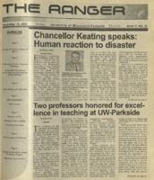 The Ranger , Volume 32, issue 11, November 15, 2001
