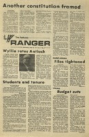 The Parkside Ranger, Volume 3, issue 8, September 25, 1974