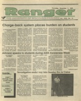 The Parkside Ranger, Volume 18, issue 13, December 7, 1989