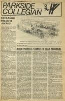Parkside Collegian, Volume 1, issue 12, April 20, 1970
