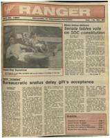 The Parkside Ranger, Volume 15, issue 28, April 23, 1987