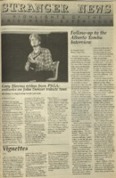The Stranger News, Volume 22, issue 23, April 1, 1994