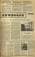 Parkside's Newscope, Volume 5, issue 3, September 20, 1971
