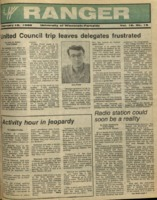 The Parkside Ranger, Volume 16, issue 19, February 18, 1988