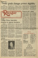 The Parkside Ranger, Volume 10, issue 23, March 25, 1982