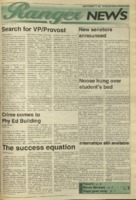 Ranger News, Volume 23, issue 19, February 16, 1995