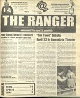The Ranger , Volume 27, issue 22, April 15, 1999