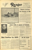 The Parkside Ranger, Volume 6, issue 23, March 1, 1978