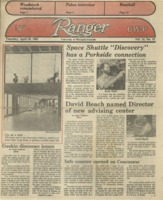 The Parkside Ranger, Volume 13, Issue 27, April 18, 1985