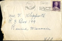 Letter from Daniel Klapproth to his mother while stationed in Fort Amador, Canal Zone, February 16, 1941