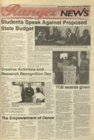 Ranger News, Volume 23, issue 28, April 27, 1995