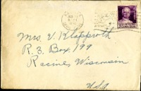 Letter from Daniel Klapproth to his mother while stationed in Fort Amador, Canal Zone, January 12, 1941