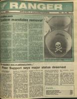 The Parkside Ranger, Volume 15, issue 17, February 5, 1987