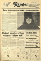 The Parkside Ranger, Volume 6, issue 24, March 8, 1978