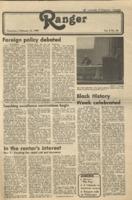 The Ranger, Volume 8, issue 20, February 14, 1980