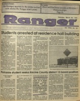 The Parkside Ranger, Volume 18, issue 24, March 29, 1990