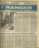 The Parkside Ranger, Volume 15, issue 13, December 4, 1986