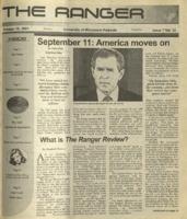 The Ranger , Volume 32, issue 7, October 18, 2001
