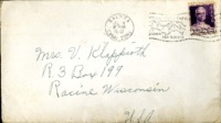 Letter from Daniel Klapproth to his mother while stationed in Fort Amador, Canal Zone, July 12, 1940