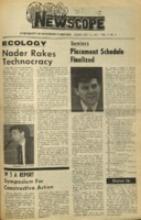 Parkside's Newscope, Volume 3, Issue 4, February 23, 1971