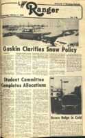 The Parkside Ranger, Volume 7, issue 19, February 7, 1979