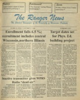 The Ranger News, Volume 25, issue 7, October 17, 1996