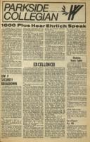 Parkside Collegian, Volume 1, issue 8, February 23, 1970