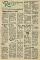 The Parkside Ranger, Volume 11, issue 9, November 4, 1982