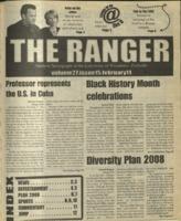 The Ranger , Volume 27, issue 15, February 11, 1999