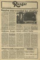 The Parkside Ranger, Volume 9, issue 4, September 25, 1980