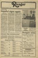 The Parkside Ranger, Volume 9, issue 10, November 6, 1980
