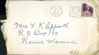 Letter from Daniel Klapproth to his mother while stationed in Fort Amador, Canal Zone, October 27, 1941