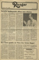 The Parkside Ranger, Volume 9, issue 5, October 2, 1980