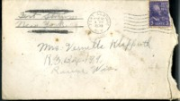 Letter from Daniel Klapproth to his mother while stationed in Fort Slocum, New York, December 11, 1939